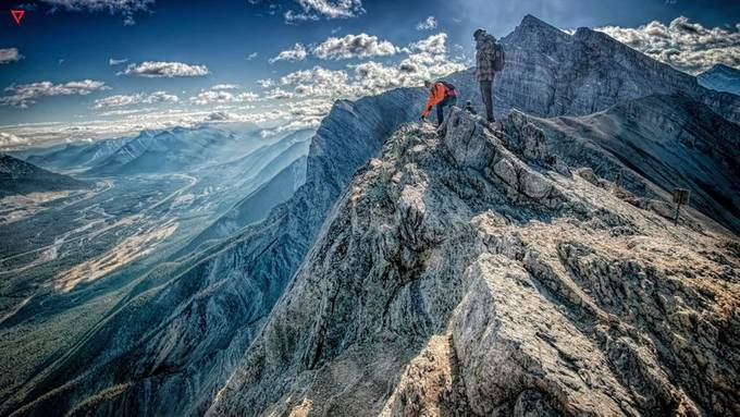 Over the Hills and Far Away by beyond_the_prism - Standing At The Edge Photo Contest
