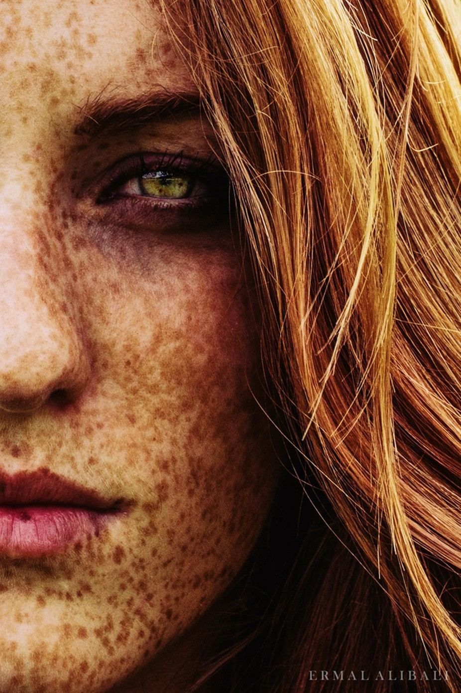 Freckles Beauty by Ermal - It Is Red Photo Contest