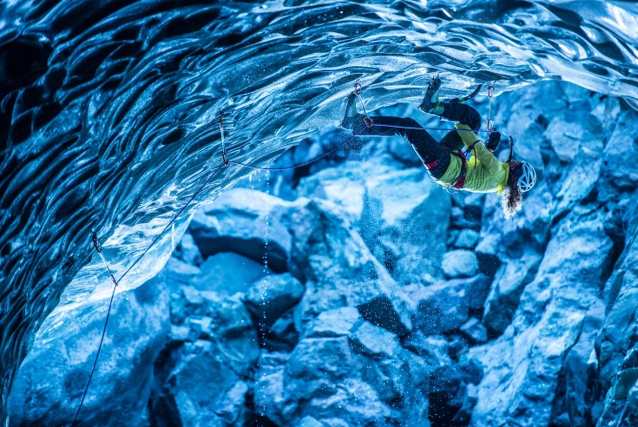 Stunning Film Shows The Danger Of Photographing Ice Climbers in Iceland