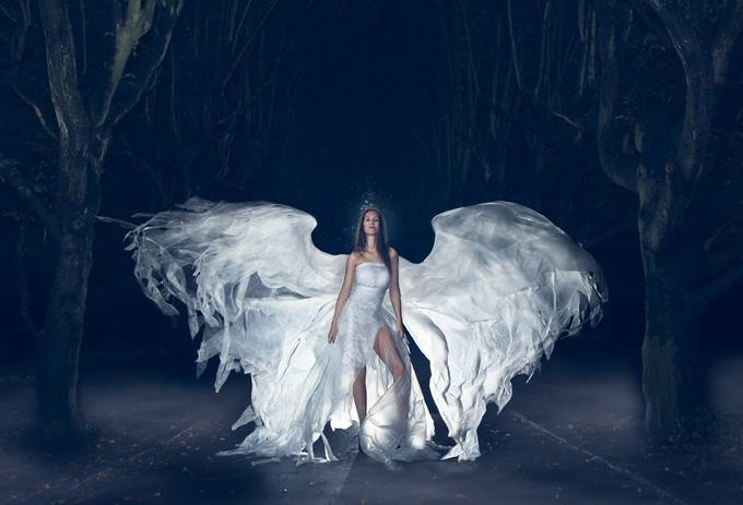 Angel by nikolaihessenschmidt - Faith Photo Contest with Scott Jarvie