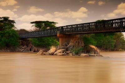 Joy Adamson's Bridge on Tana River