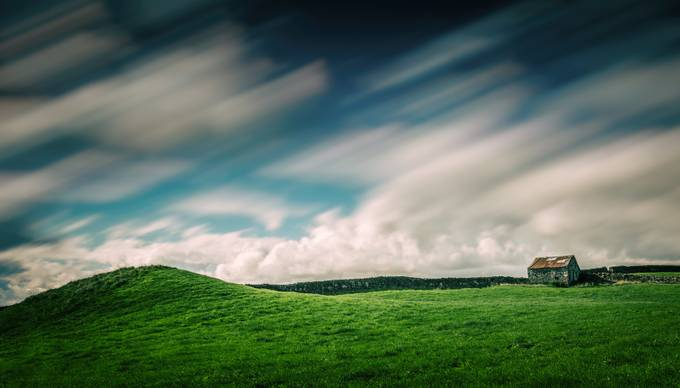 The Shack and the Hill (long exposure edit) by roryturnbull - Clever Angles Photo Contest