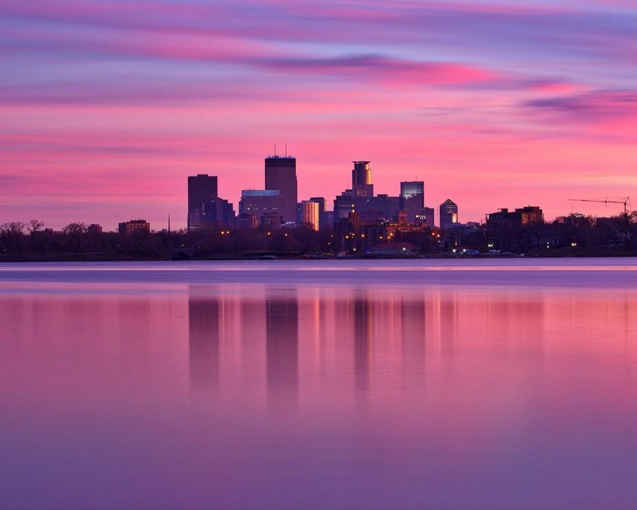 Minneapolis In Lavender