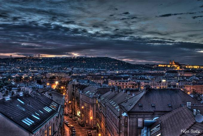 Prague Sunset by kajacurtis - Discover Europe Photo Contest