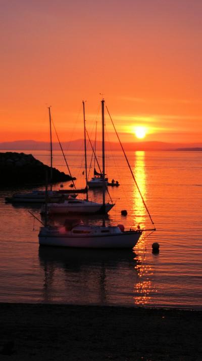 Rhos On Sea Sunrise, North Wales