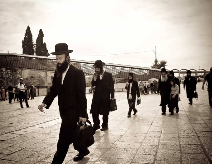 near the Western Wall by judisingerneumeyer - Cultures of the World Photo Contest