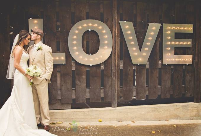 L.O.V.E by dtdrphotography - Here Comes The Bride Photo Contest