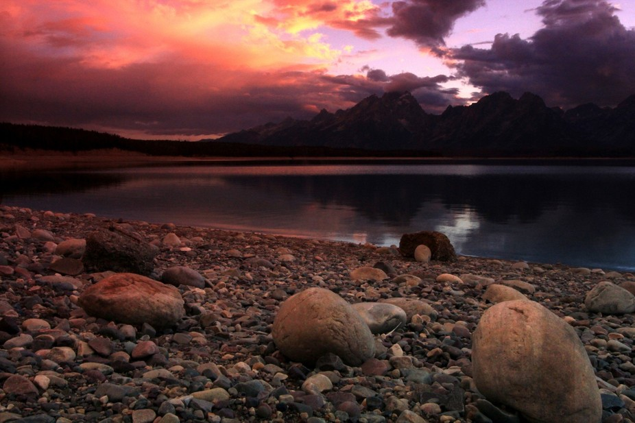 Jackson Lake Sunset 3