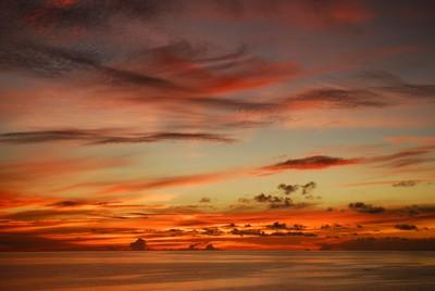 Sulu Sea Sunset