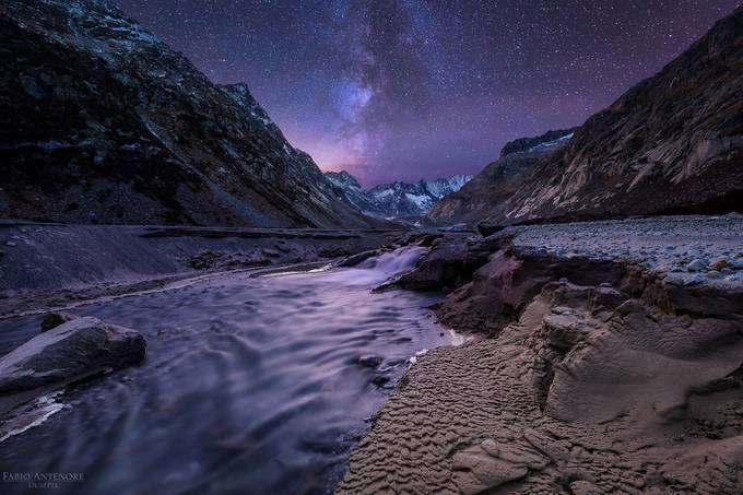 water on Mars by Fabio_Antenore - Secret Canyons Photo Contest