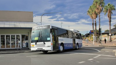Out N About Buses M-O 9646 @ Merrylands on Rail Replacement
