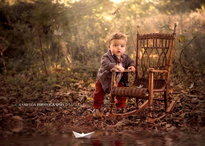 Paper Boat by HamptonPhotography - My Favorite Chair Photo Contest