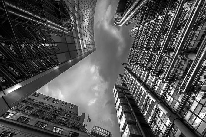 Grey sky, grey buildings by alechickman - Black And White Architecture Photo Contest