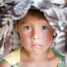 Boy from an Indian reservation in Montana.