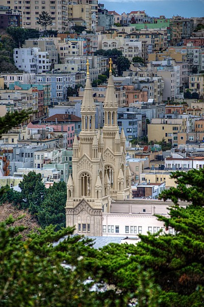 Saints Peter and Paul Church In SanFrancisco
