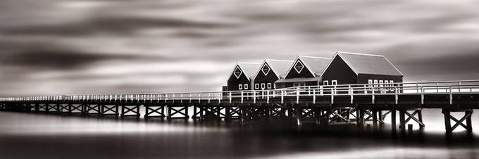 Mystical Jetty   by 14renren - The View Under The Pier Photo Contest