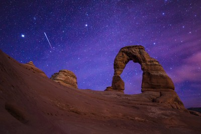 Night Wonders over Delicate Arch