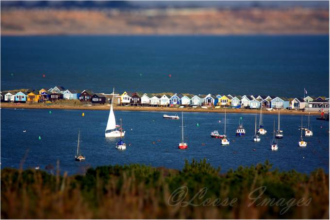 Hengistbury Head by lucyantony - TiltShift Effect Photo Contest