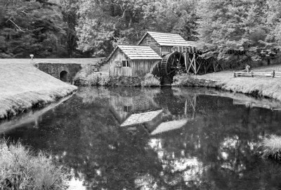 The Mabry Mill on the BRP