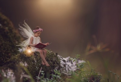 """""""If you can see magic in a fairytale, you can face the world."""""""