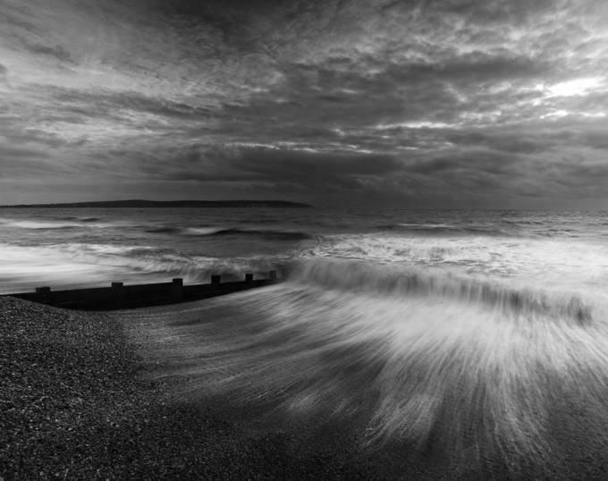 Storm at Milford on Sea by ceridjones - Using Filters Photo Contest