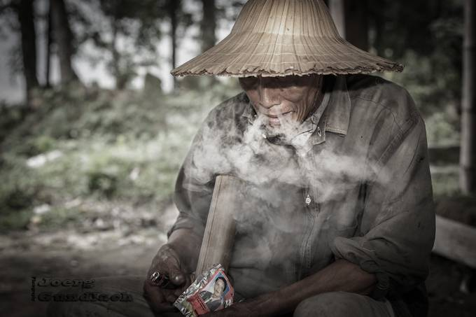 smoke man by Joerg - Everything Smoke Photo Contest