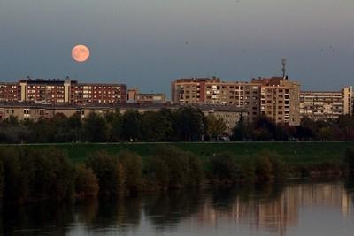 Full Moon Over Zagreb