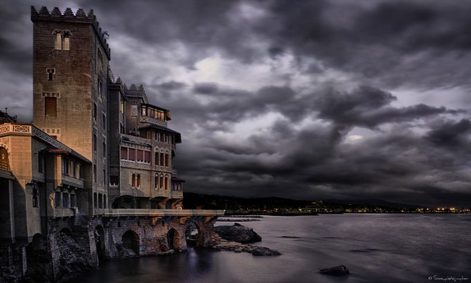 Pegli in Storm by Tiziano - 500 Stormy Clouds Photo Contest