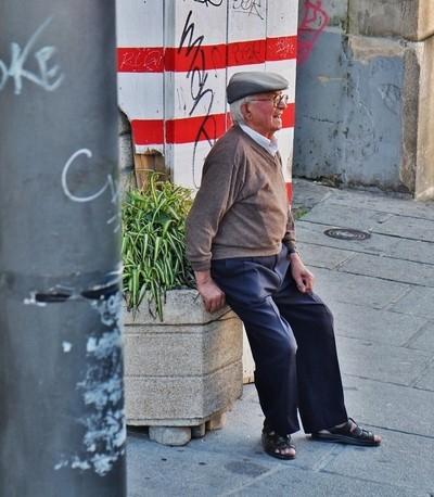 Elderly Gentleman, Porto, Portugal