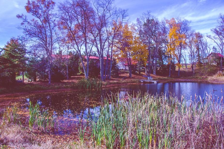 Family Farm on an Ohio Fall Day
