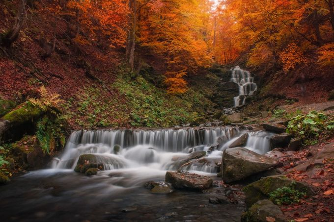 waterfall by _0433 - Fall 2016 Photo Contest