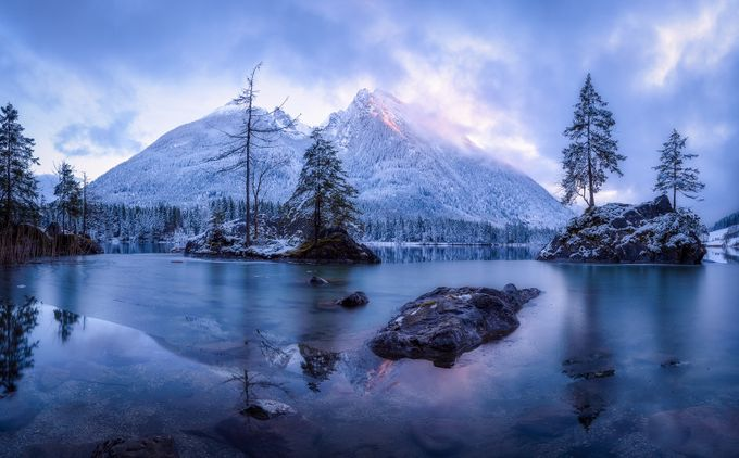 The Frozen Mountain by Daniel-Photography