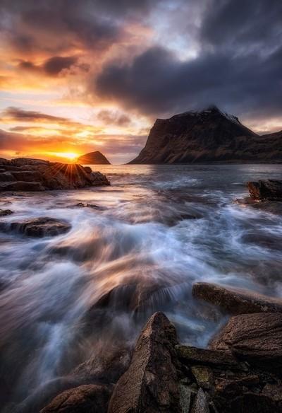 Northern Coast Sunset