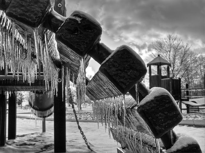Icy Playground by timzeipekis - Black And White Landscapes Photo Contest