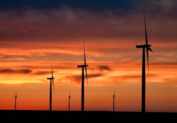 Wind-power by rgmoore - Orange Tones Photo Contest