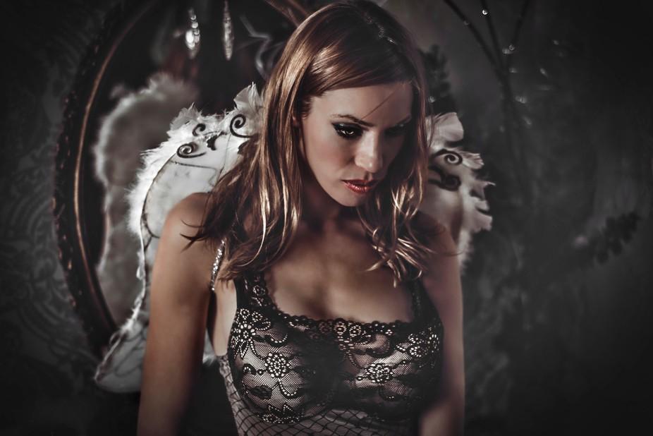 Fallen angel by JDesjardins