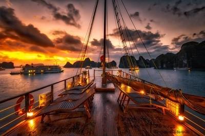 Sunrise on Board