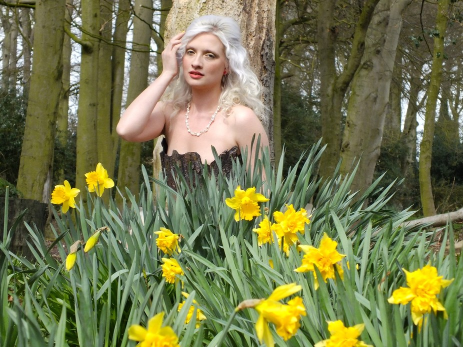 Another of my woodland fairy themed shoot in April 2015.