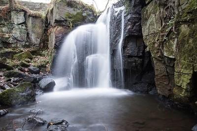 Waterfall Derbyshire