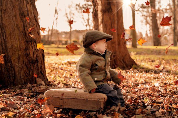 Enjoying the Leaves  by MarissaJane - Hats Photo Contest