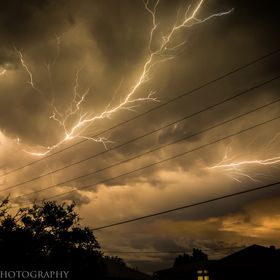 Late night storm came through Brisbane QLD tonight. Great light show.