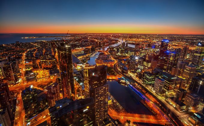 Melbourne  by Ozscapes - Rooftops Photo Contest 2018