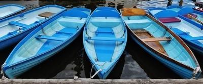 Blue Boats, Henley on Thames