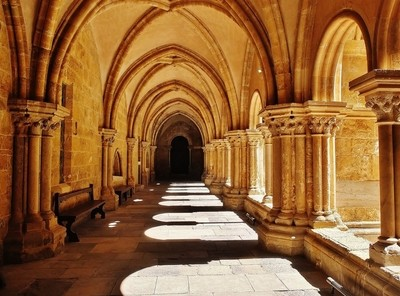 Coimbra Cathedral Cloister