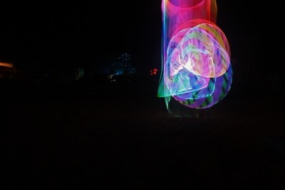 psychedelic hoop