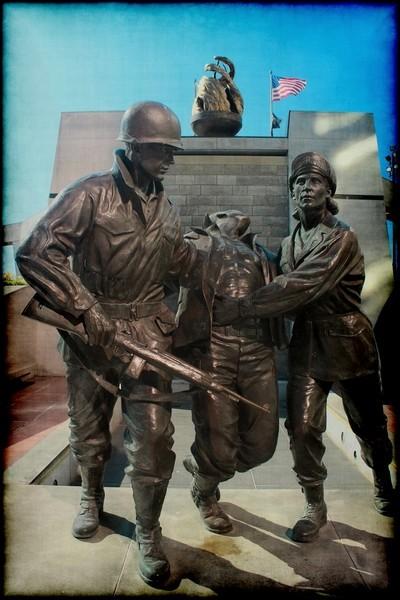 Korean War Memorial AC, NJ