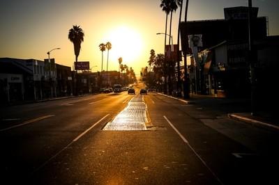 Sunset Boulevard at Sunrise