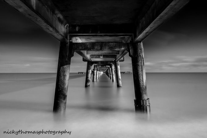 deal pier by nickythomas - The View Under The Pier Photo Contest