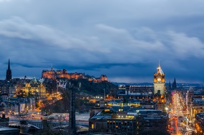 Edinburgh In November