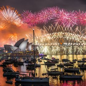 The famous firework in Sydney is a stunning experience. I was able to take that shot in 2014/2015